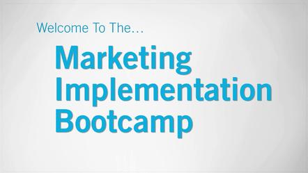 Eben Pagan – Marketing Implementation Bootcamp