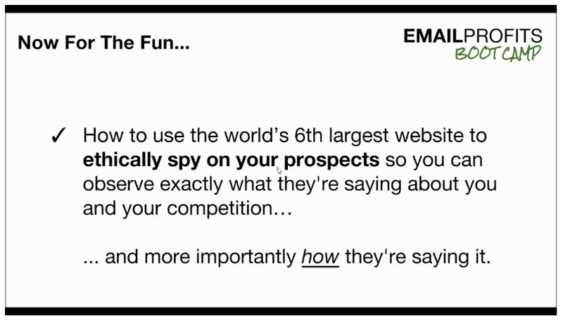 Email Profits Bootcamp