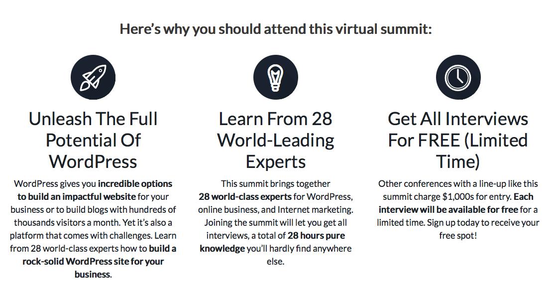 The WP Summit 2015