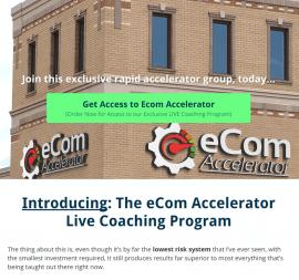 eCom Accelerator Live Coaching Program