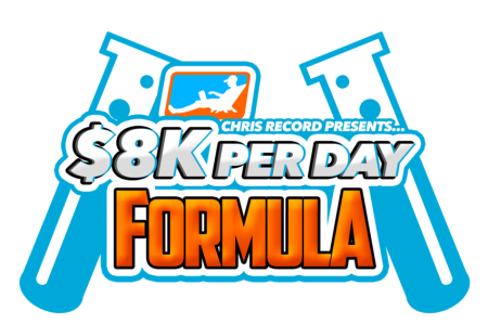 Chris Record – $8K Per Day Formula