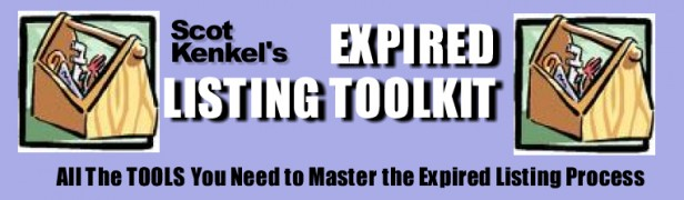 Scot Kenkel – Expired Listing ToolKit – Value $147