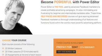 Jon Loomer – Power Editor Training Course – Value $347