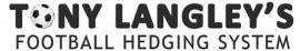 Tony Langley – Football Hedging System
