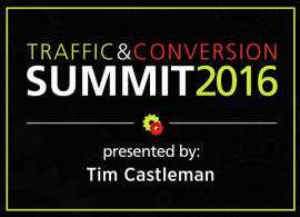 Traffic & Conversion Summit Note 2016