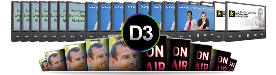 Rich Schefren – D3 Desire, Demand, Domination – Value $2500