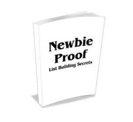 Ben Settle – Newbie Proof List Building Secrets