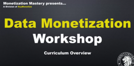 Ricco Davis – Data Monetization Workshop