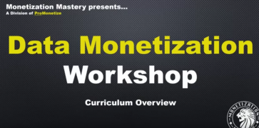 Ricco Davis – Data Monetization Workshop – Value $2,495