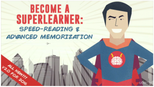 Become a SuperLearner 2: Learn Speed Reading & Boost Memory – Value $25