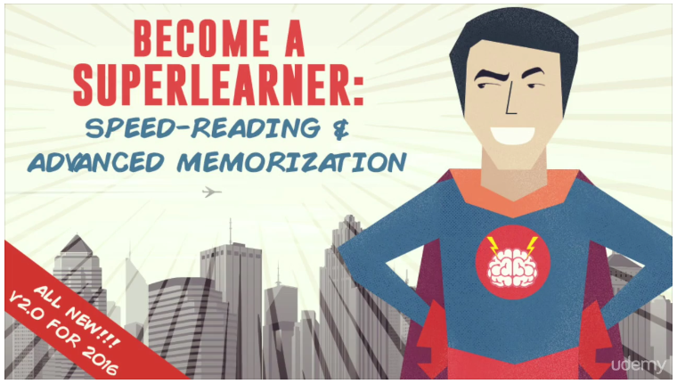 Become a SuperLearner 2 - Learn Speed Reading & Boost Memory – Value $25