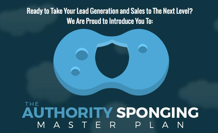 Ben Adkins – Authority Sponging Master Plan