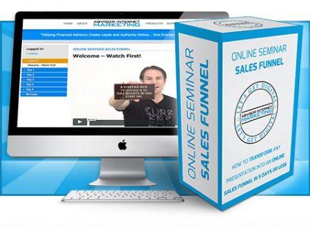 Online Seminar Sales Funnel –  Jovan Will