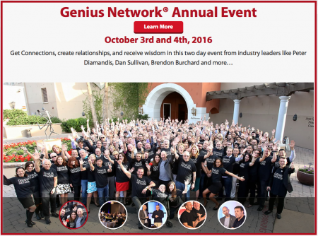 Joe Polish – Genius Network Experience