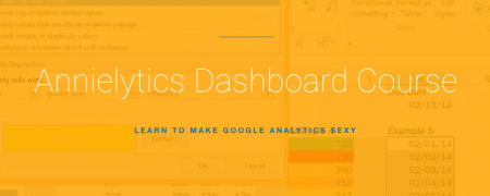 Annielytics Dashboard Course