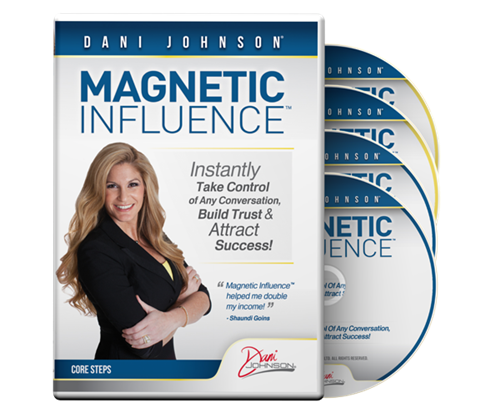 Dani Johnson – Magnetic Influence – Value $49.95