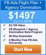 Keith Krance – FB Ads Flight Plan + Agency Domination – Value $1497