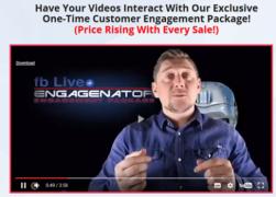 FB Live Engagenator : Software + OTO – Value $27