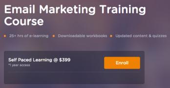 Market Motive – Email Marketing Practitioner – Value $299