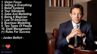 Jordan Belfort – Top 10 Personal Development Advice