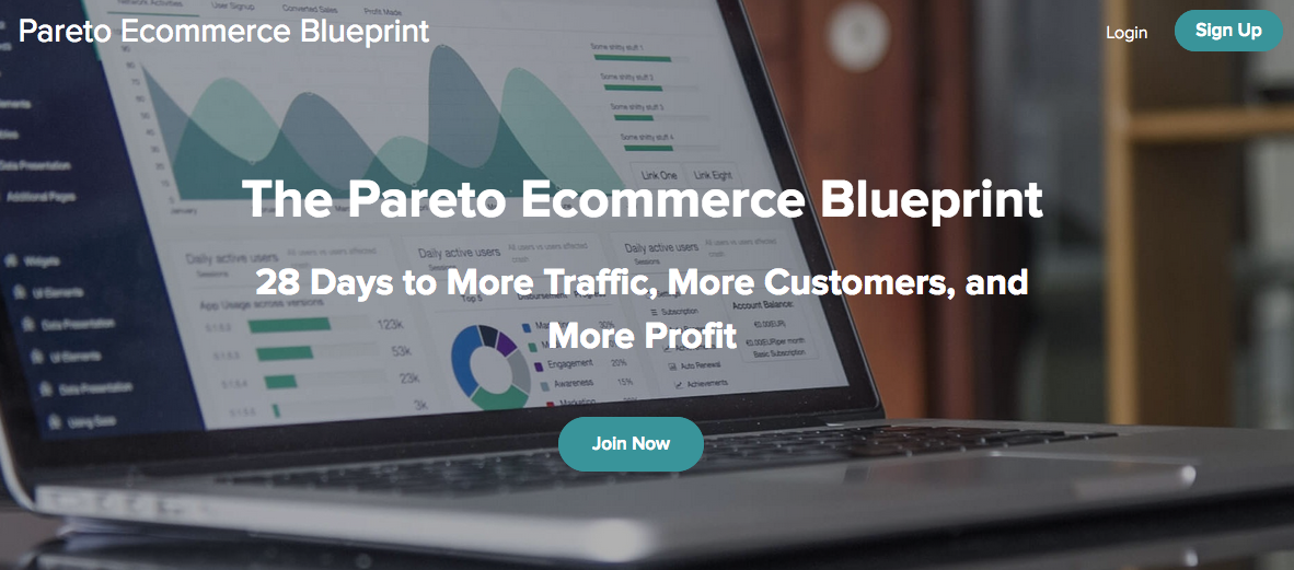 Brendan Tully – The Pareto Ecommerce Blueprint – Value $497