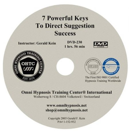 Gerald Kein – Seven Powerful Keys to Direct Suggestion Success