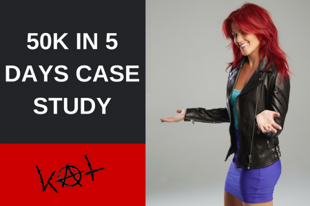 Kat Loterzo – 50k in 5 days case study