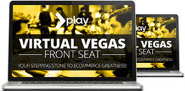 Roger and Barry – Virtual Vegas Front Seat
