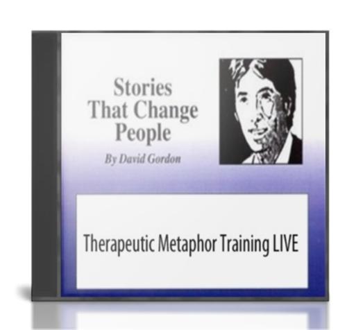 David Gordon – Therapeutic Metaphor Training – Value $52.41