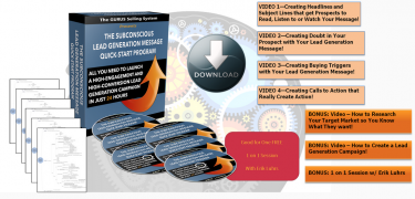 The Subconscious Lead Generation Message Quick-Start Program – Value $399