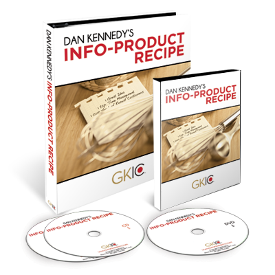 Dan Kennedy – Info Product Recipe – Value $397