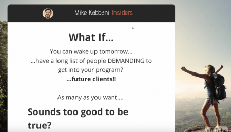 Mike Kabbani -The Client Getting SuperFunnel