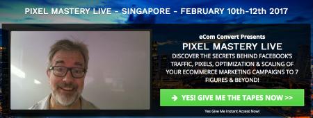 Pixel Mastery Live Singapore