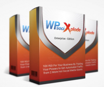 WP Social Xplode – Value $77