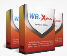 WP Social Xplode – Value $77