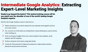 ConversionXL – Intermediate Google Analytic – Value $499