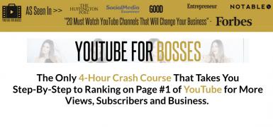 Sunny Lenarduzzi – YouTube for Bosses – Value $597