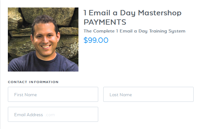 Ryan Lee The 1 Email a Day Mastershop – Value $99
