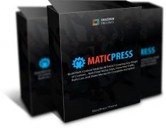 MaticPress – Value $27