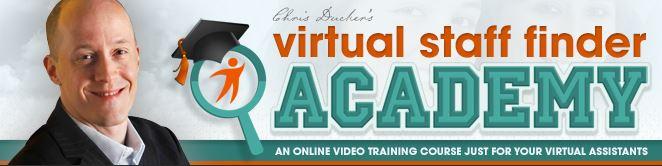 Chris Ducker – Virtual Staff Finder Academy