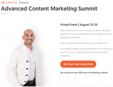 Neil Patel – Advanced SEO Summit 2017