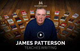 James Patterson – Teaches Writing – Value $90