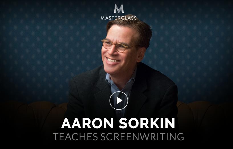 Aaron Sorkin on Screenwriting