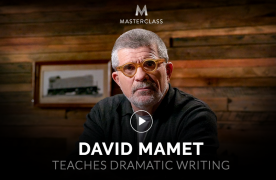 David Mamet Teaches Dramatic Writing – Value $90