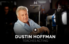 Dustin Hoffman – Teaches Acting – Value $90