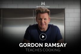 Gordon Ramsay – Teaches Cooking – Value $90