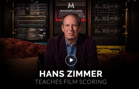 Hans Zimmer – Teaches Film Scoring – Value $90