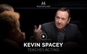 Kevin Spacey – Teaches Acting – Value $90