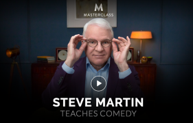 Steve Martin – Teaches Comedy – Value $90