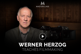 Werner Herzog – Teaches Filmmaking – Value $90